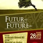 Kajian Penutupan Semester Ganjil: Futur-mu Mengganggu Future-mu