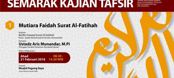 Dauroh Tengah Semester Ma'had Al 'Ilmi Yogyakarta