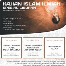 KAJIAN ISLAM ILMIAH SPESIAL LIBURAN